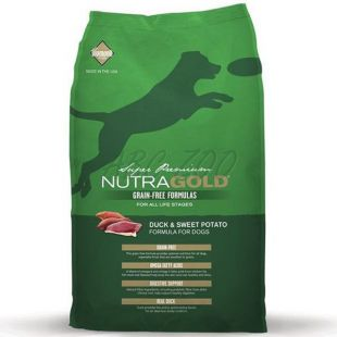 NUTRA GOLD Duck&Sweet Potato GRAIN FREE - 2,25 kg
