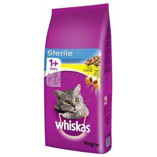 WHISKAS Sterile macskáknak 14 kg