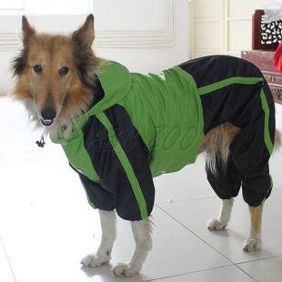 Overál kutyáknak, zöld - fekete, L-XS
