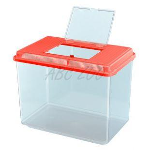 Műanyag hordozó Ferplast GEO MAXI - piros, 21L