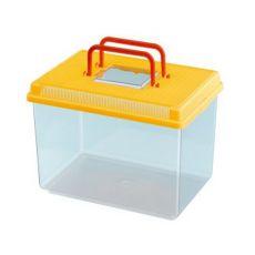 Műanyag hordozó Ferplast GEO LARGE - sárga, 6L