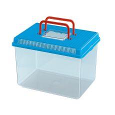 Műanyag hordozó Ferplast GEO LARGE - kék, 6L