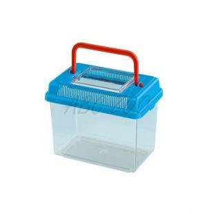 Műanyag hordozó Ferplast GEO MEDIUM - kék, 2,5L
