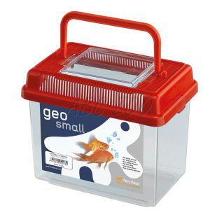 Műanyag hordozó Ferplast GEO SMALL - piros, 1L