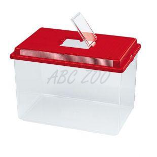 Műanyag hordozó Ferplast GEO EXTRA LARGE - piros, 11L
