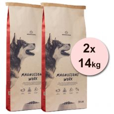 Magnusson Meat & Biscuit WORK 2x14kg