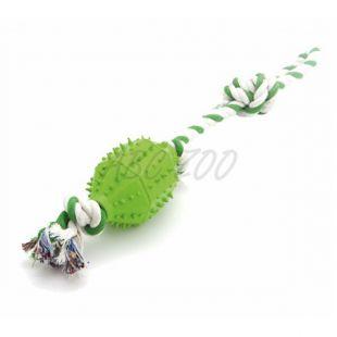Kutyajáték - ZIBI labda kötélen, 45 cm