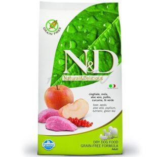 Farmina N&D dog GF ADULT  Boar & Apple 0,8 kg