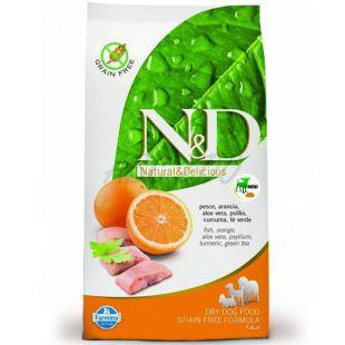 Farmina N&D dog GF ADULT MINI Fish & Orange 0,8 kg