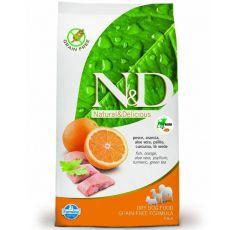Farmina N&D dog GF ADULT MINI Fish & Orange 7 kg