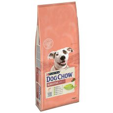 PURINA DOG CHOW SENSITIVE Salmon & Rice 14kg