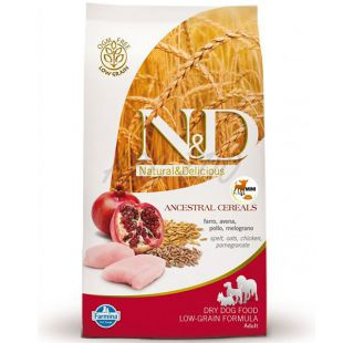 Farmina N&D dog LG ADULT MINI Chicken & Pomegranate 2,5 kg