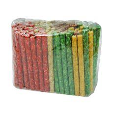 Rágópálcika kutyáknak marhabőről, színes - 50 db