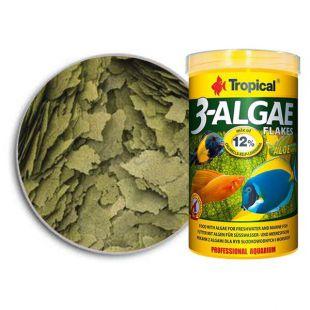 TROPICAL 3-Algae Flakes 1000ml/200g