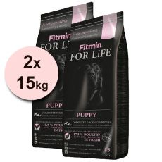 Fitmin FOR LIFE Puppy All Breeds - 2 x 15 kg