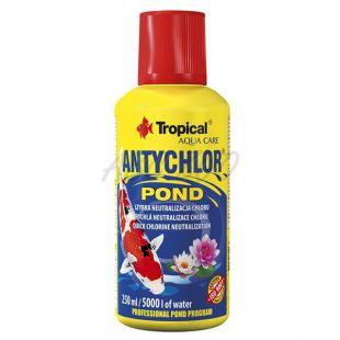 ANTYCHLOR POND 250 ml / 5000 L - klórmentesítő