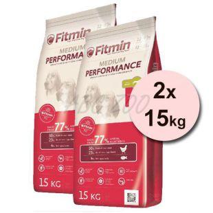 Fitmin MEDIUM Performance - 2x15 kg + INGYENES SZÁLLÍTÁS