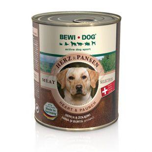 BEWI DOG konzerv, szív + zúza, 800 g