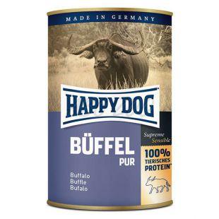 Happy Dog Pur - Büffel 400g / bivalyhús