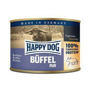 Happy Dog Pur - Büffel 200g / bivalyhús