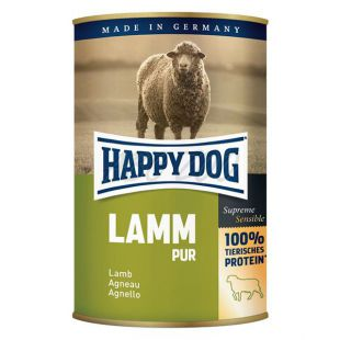 Happy Dog Pur - Lamm 400g / bárányhús