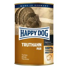 Happy Dog Pur - Truthahn 400g / pulyka