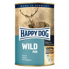 Happy Dog Pur - Wild 400g / vadhús