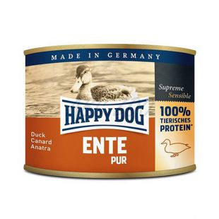 Happy Dog Pur - Ente 200g / kacsa