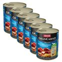 GranCarno Fleisch Adult konzerv füstölt angolna+burgonya - 6x800g