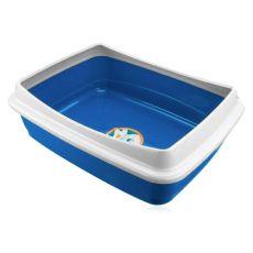 Macskatoalett  - kék, 47 x 36 x 15,5 cm