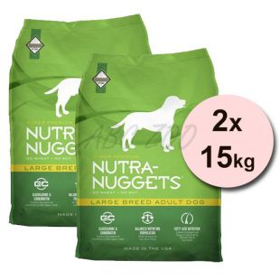 NUTRA NUGGETS Large Breed Adult 2 x 15kg