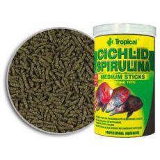 TROPICAL Cichlid Spirulina Medium Sticks haltáp, 250 ml