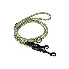 Kutyapóráz Hurtta Training, kötél - 250cm x 8mm, zöld