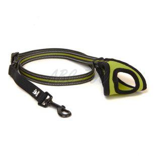 Kutyapóráz Hurtta Jogging, 60-90cm x 20mm, zöld