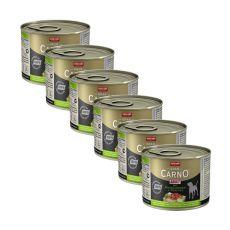 GranCarno Adult konzerv pulykaszív és édeskömény - 6 x 200g