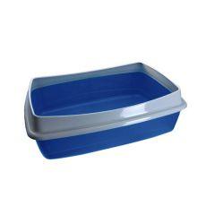 Macskatoalett - kék - 54,5 x 40 x 18 cm