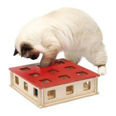 Játék macskáknak MAGIC BOX, 27 x 27 x 8,5 cm