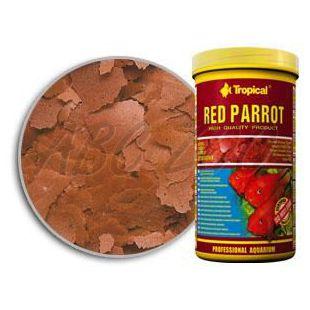 TROPICAL Red parrot flake színfokozó haltáp 300 ml