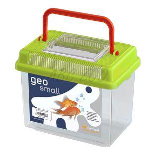 Műanyag hordozó Ferplast GEO SMALL - zöld, 1L