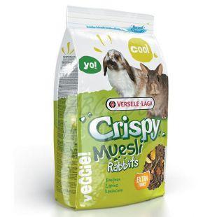 Crispy Muesli Rabbits 2,75kg - eledel nyulaknak