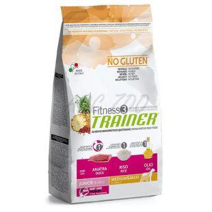 Trainer Fitness3 Junior MEDIUM MAXI - kacsa és rizs 12,5 kg
