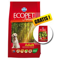 Farmina MO P ECOPET N dog ADULT MEDIUM 12 kg + 2 kg ajándék