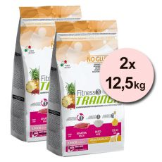 Trainer Fitness3 Junior MEDIUM MAXI - kacsa és rizs 2x12,5 kg