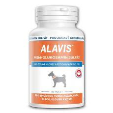 ALAVIS MSM Glükozamin szulfát - egészséges ízületekre és fizikai jólétre, 60tbl.