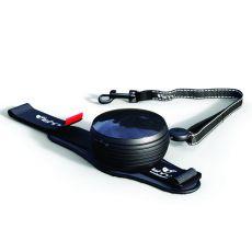 Lishinu handsfree póráz 30kg-ig, 3m - fekete