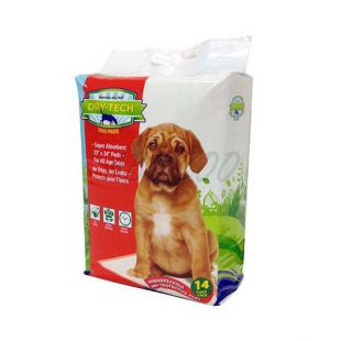 Helyhez szoktató pelenka kutyáknak DRY TECH - 59x61cm, 14db