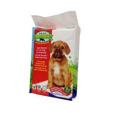 Helyhez szoktató pelenka kutyáknak DRY TECH - 59x61cm, 7db