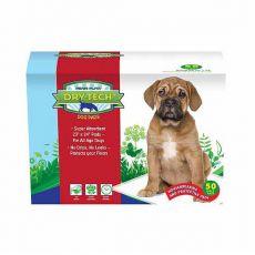 Helyhez szoktató pelenka kutyáknak DRY TECH - 59x61cm, 50db