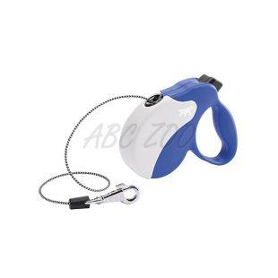 Póráz Amigo Mini 12kg-ig - 3m zsinór, kék fehér