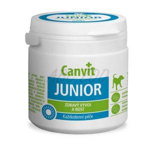 Canvit junior - tabletta a kölykök egészséges fejlődéséhez és növekedéséhez 100g